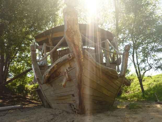 Spielschiff in Kita Dunen 2 Eiche